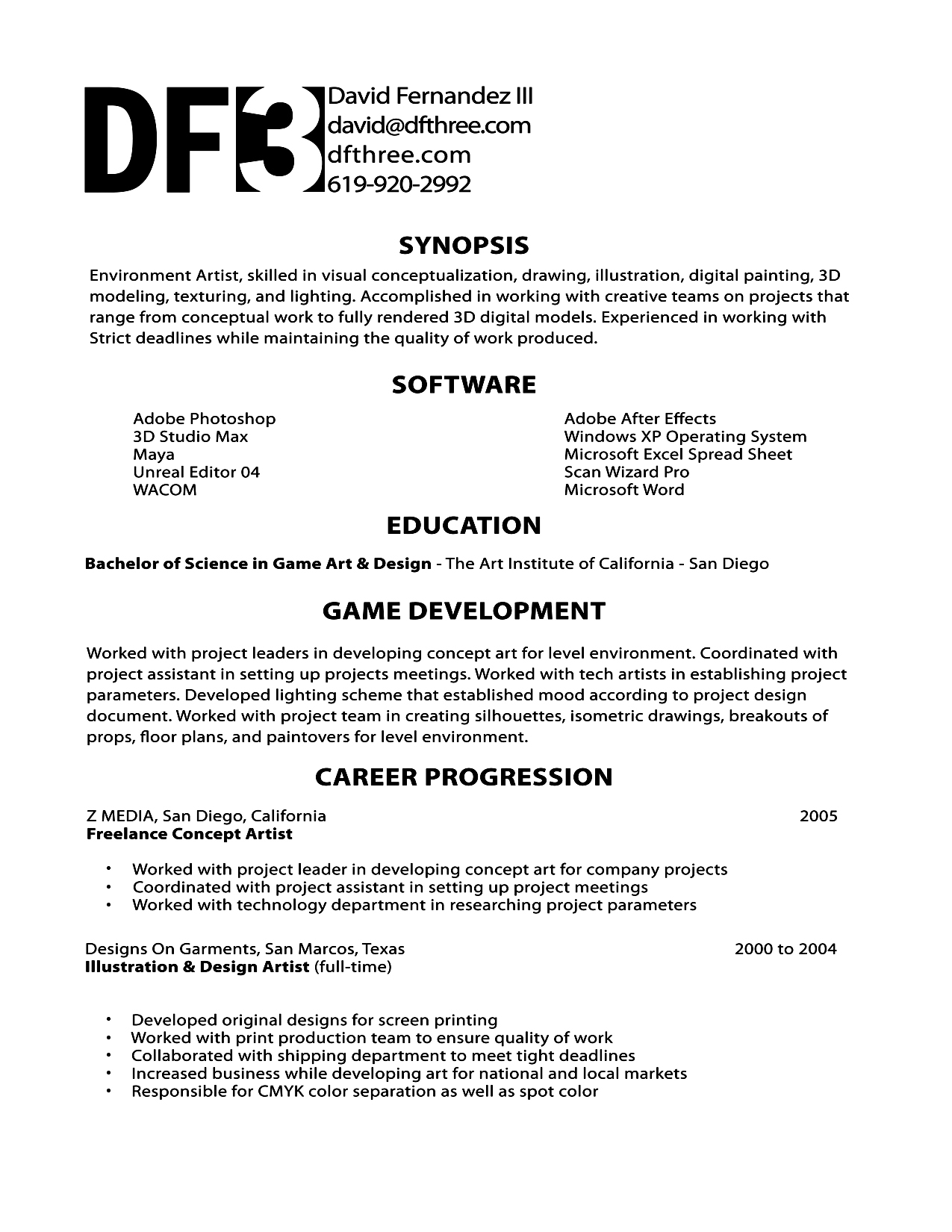 Simple Resume Design Ideas That Work
